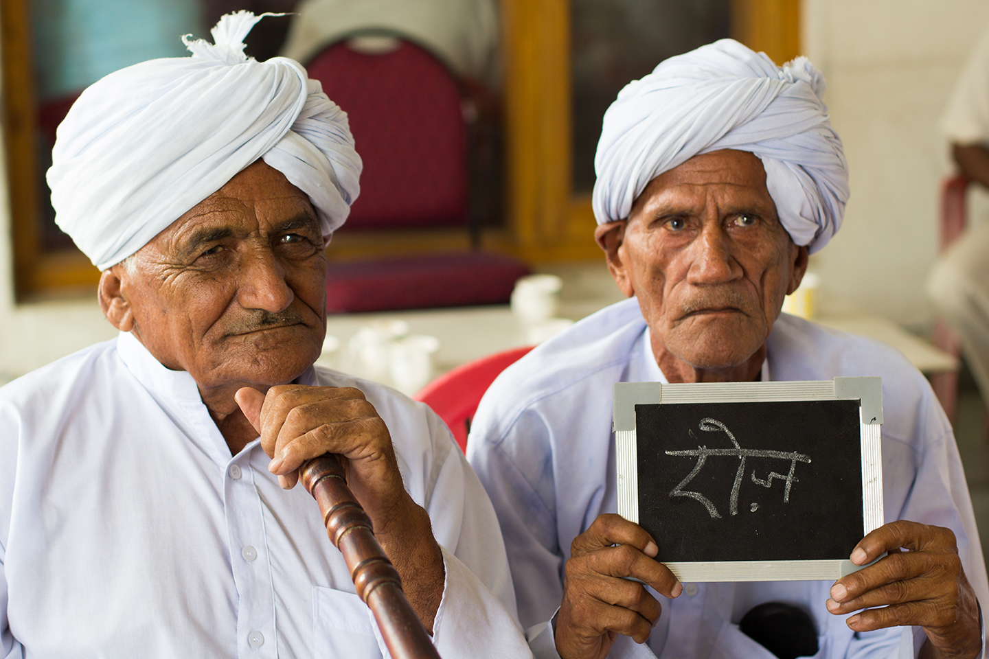 Gopiram and Ranvir Singh are respected elders of a village in Karnal district, Haryana. Both drink chai every day, many times.
