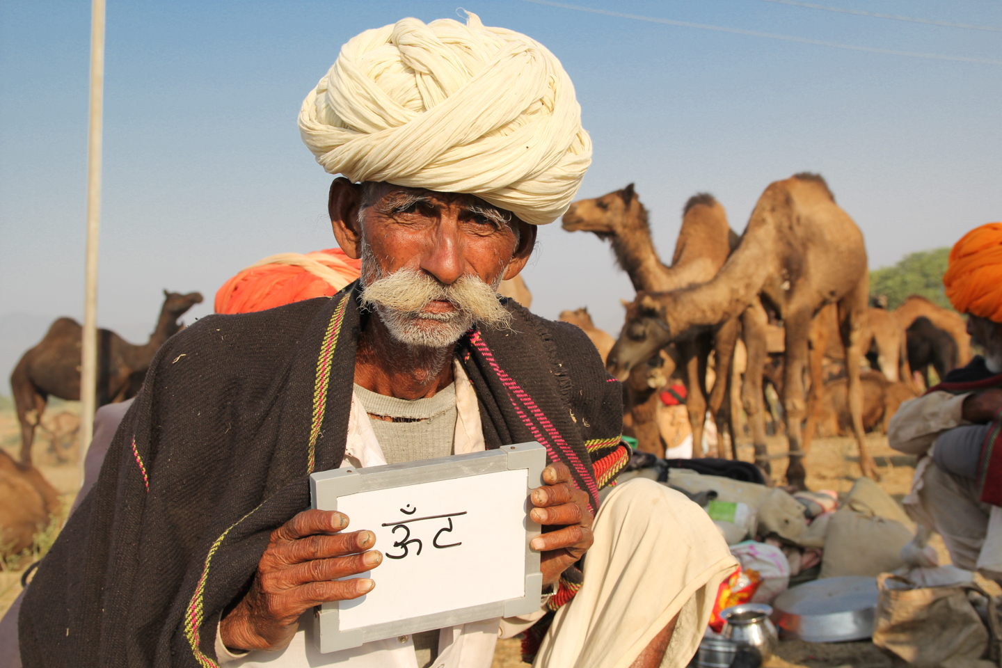 Bakram Devashi from Rajasthan's Nagaur district can't imagine life without his herd of camels. His mornings start with a cup of camel milk chai, and his days end with the same.