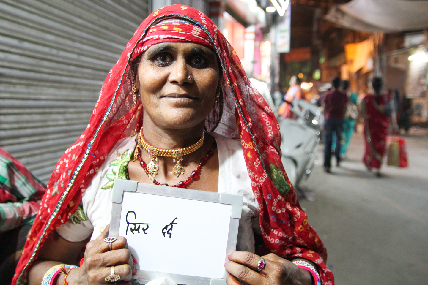 For Rukma Devi of Jodhpur, Rajasthan, chai is more than a drink - it also relieves her of her headaches.
