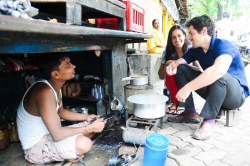 Resham-and-Zach-with-Bablu-in-Kolkata-