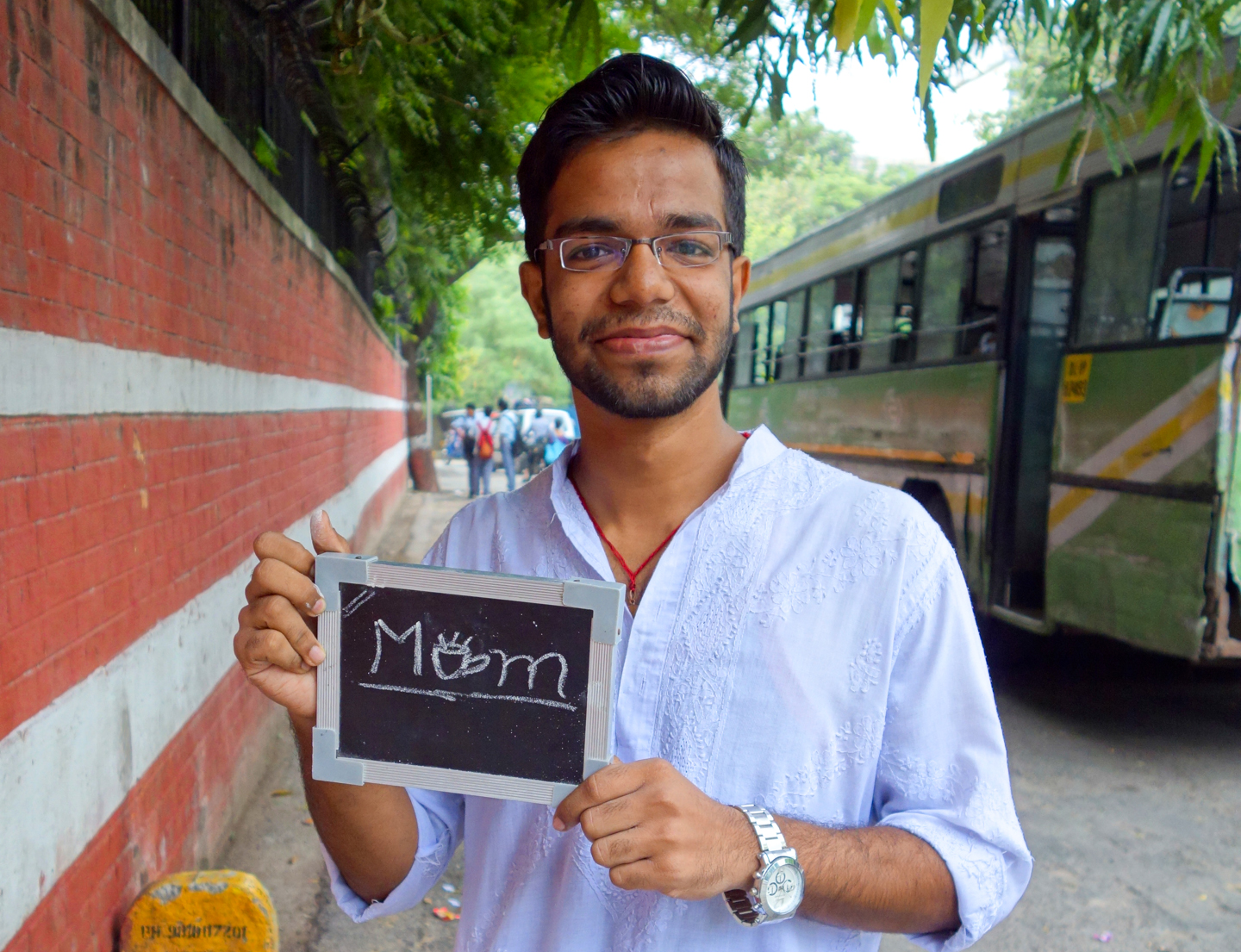 For Priyesh, a college student in New Delhi, chai evokes thoughts of the woman who makes his favorite cup - his mom.