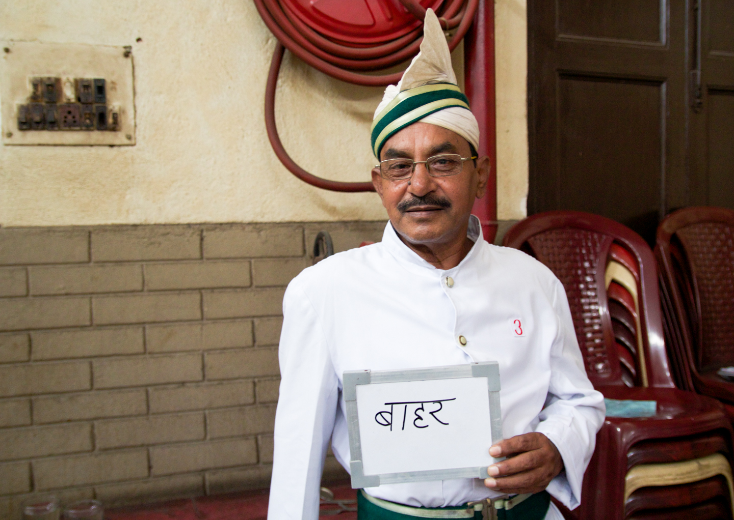 Mohammed Islam has been a waiter at Kolkata's Indian Coffee House for 34 years. Tea isn't on the menu at this famed institution run by the Indian Coffee Workers Co-Operative Society, so he takes breaks at the chai stand outside.