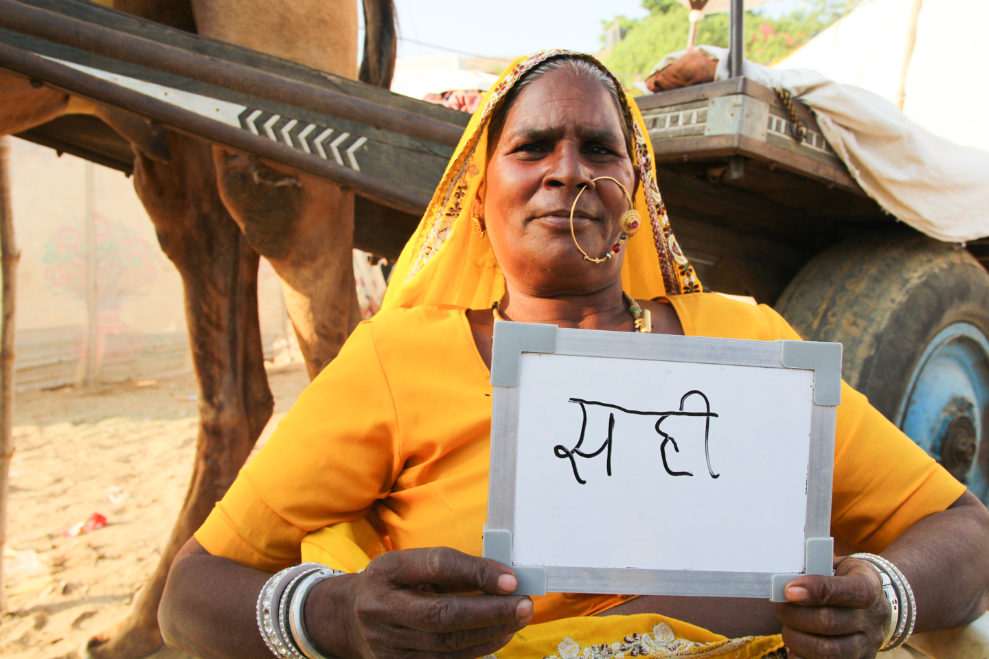 For Nani, a camel herder in Pushkar, the taste of chai is just right.