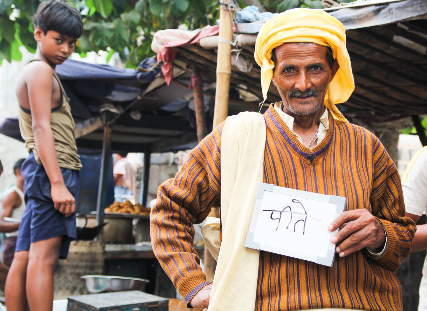 Rajendra Thakur, a resident of Patna, Bihar, thinks 'drink' when he hears the word chai.
