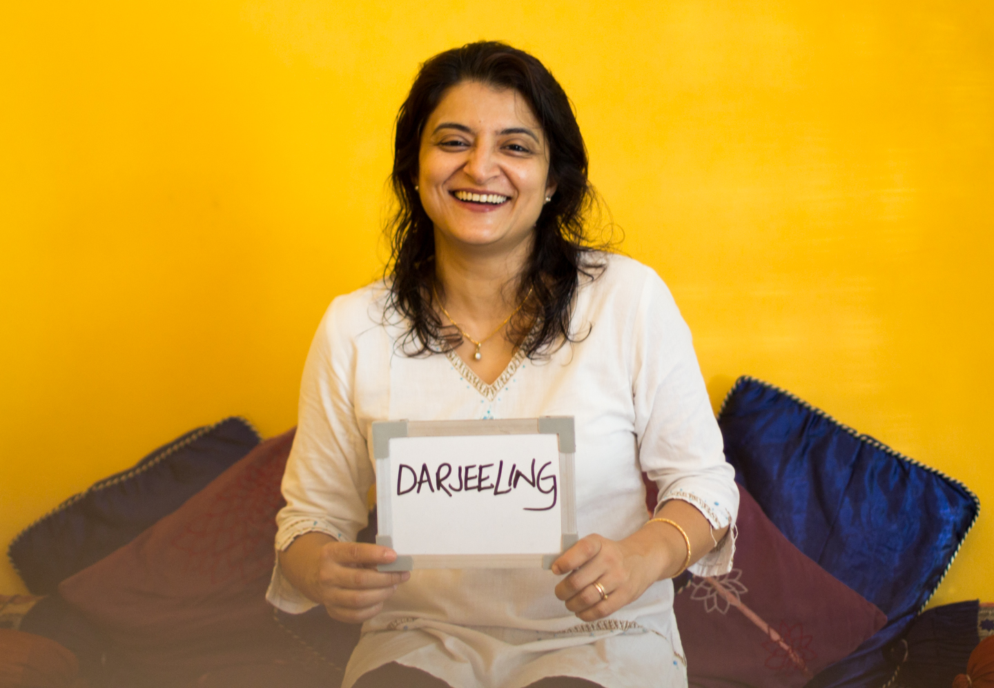 Tinku Ray's career in media has taken her all over the world. Whether in the US, the UK, or her current home in Delhi, she always drinks tea from Darjeeling, which reminds her of her Bengali roots growing up in Kolkata.