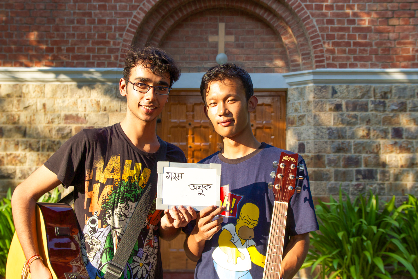 Risheek from Lucknow and Aruba from Manipur study at Delhi University, where in between classes and studying, they find time to make music. While Risheek thinks 'hot' when he hears the word chai, Aruba thinks 'morning.'