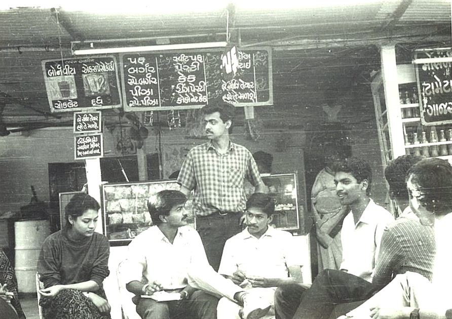 One of the gang's favorite chai shops.