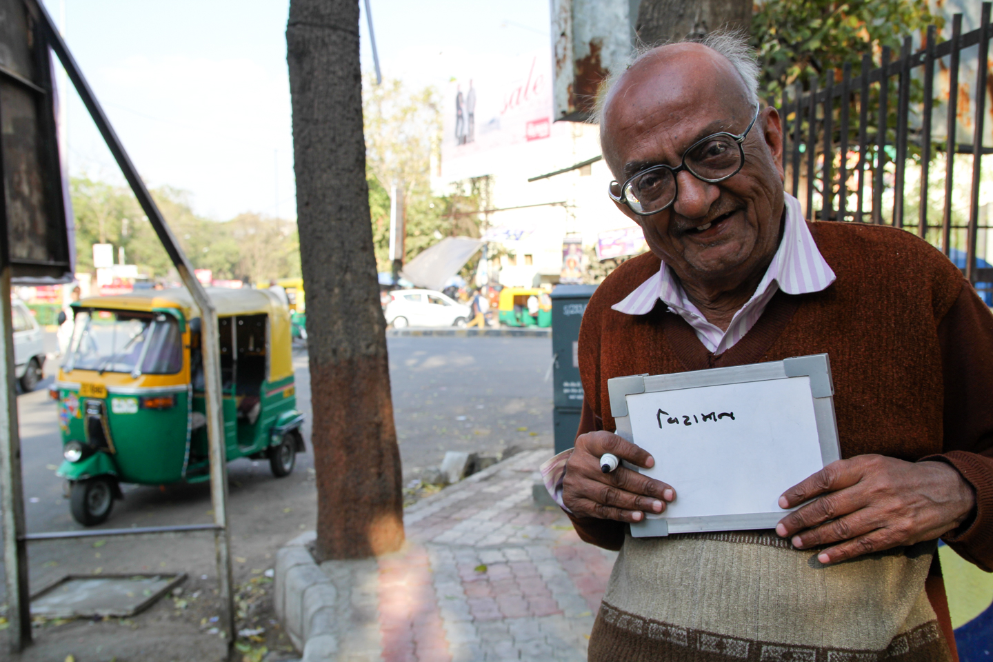 Arvind, a retired immigration officer who lives in Ahmedabad, Gujarat, drinks tea for its health benefits. 'Tea is very healthy. It has lots of vitamins. But I do not drink it with milk and sugar. I am 80 years old, a retired man. I am just relaxing. This is what senior citizens do.'