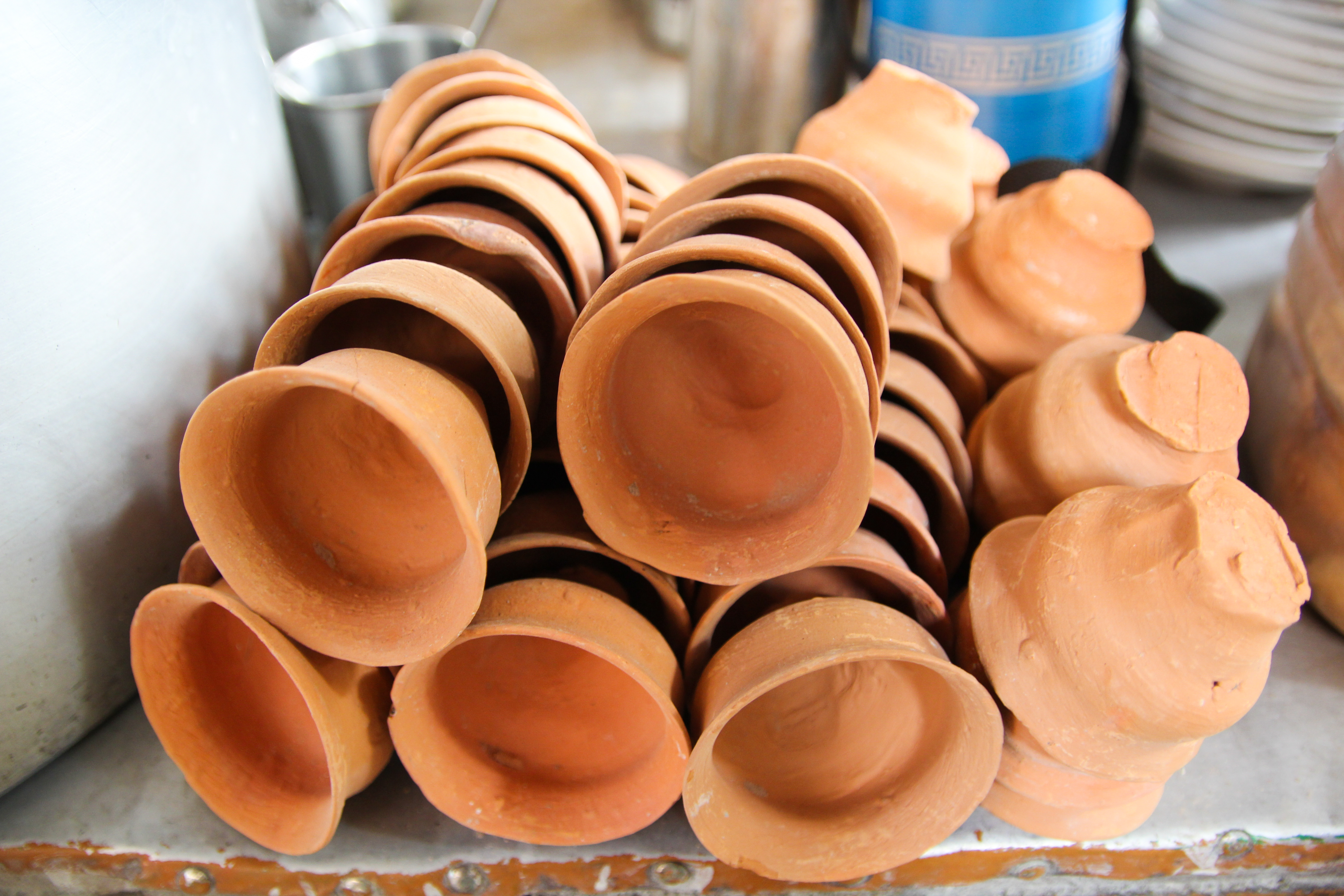 Traditional clay cups used to be a quintessential part of every train journey.